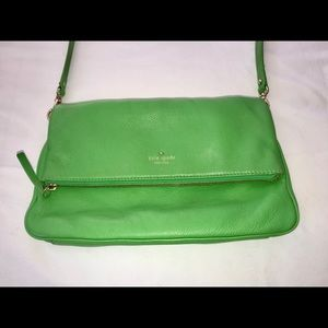 Beautiful Green Kate Spade crossbody bag